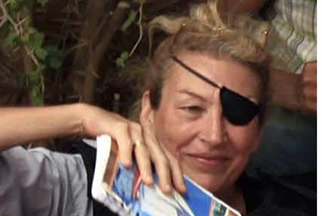 Killed US reporter Marie Colvin, June 2011