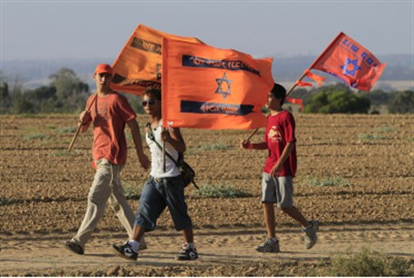 Gush Katif evictees, 2010 (file)