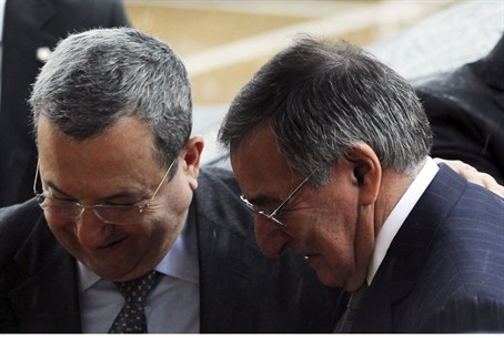 Barak and Panetta meet in Washington