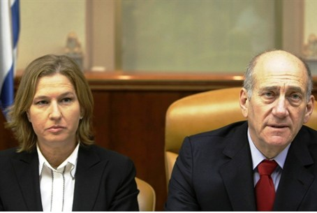 Olmert and Livni