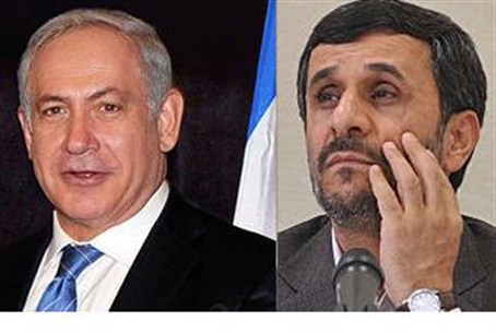 Netanyahu and Ahmadinejad