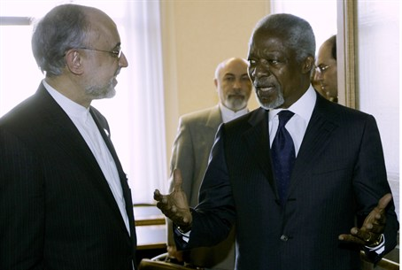 Kofi Annan, Right