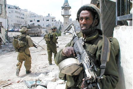 Soldiers in Shechem -- Defensive Shield