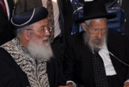 Israel Chief Rabbi Shlomo Amar, Rabbi Avraham
