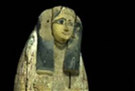 Picture on stolen coffin lid