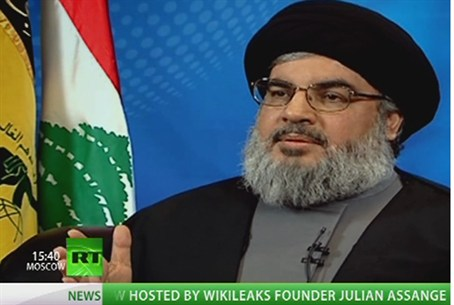 Nasrallah interviewed by Assange