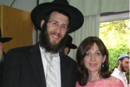 Rabbi Avraham and Dina Hendel