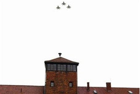 Flight over Auschwitz