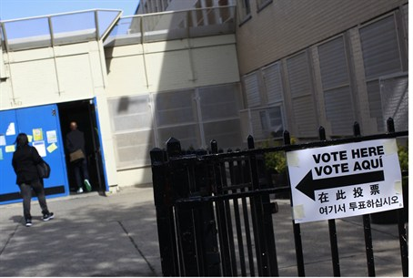 voting in Brooklyn
