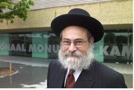 Dutch Chief Rabbi Binyomin Jacobs