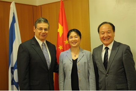Ayalon, China's Ambassador to Israel, and Env