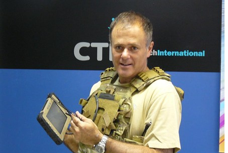 New wearable Octopus tablet for IDF special f