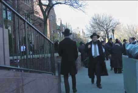 Chabad emissaries in Crown Heights neighborho