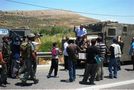 Previous confrontation near Yitzhar