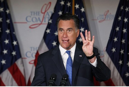 Romney at Latino  Convention