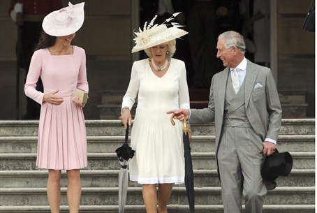Catherine, the Duchess of Cambridge, Camila t