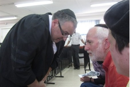 Attorney Agassi with Michael Palmer