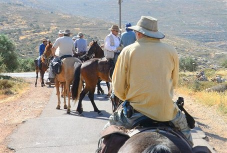 Horse riding trip in the Shomron