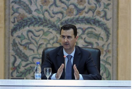 Assad addresses parliament