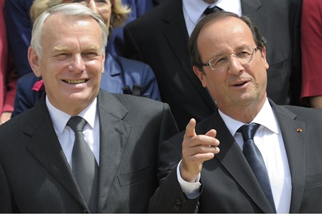 Hollande and Ayrault