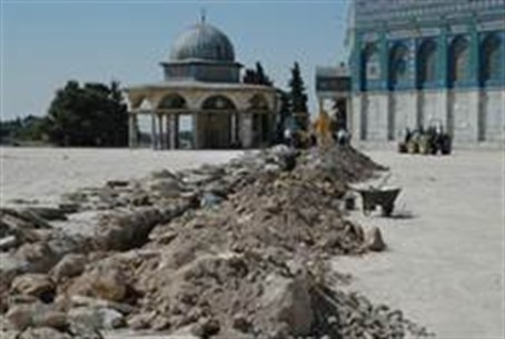 Temple Mount diggng