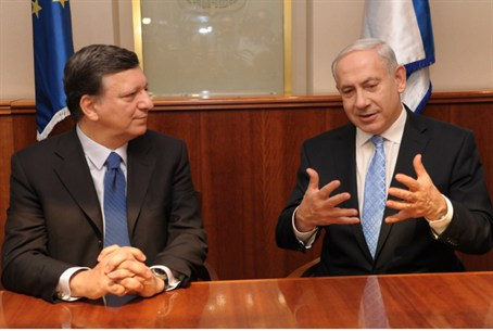 Barroso and Netanyahu