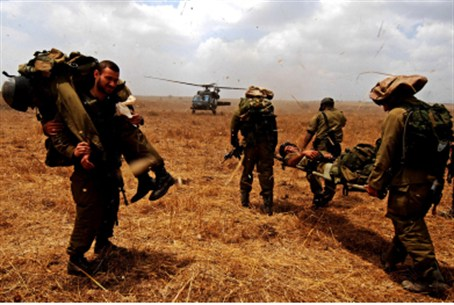 IDF soldiers' drill (illustrative)