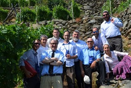 Shomron winemakers visit Italy