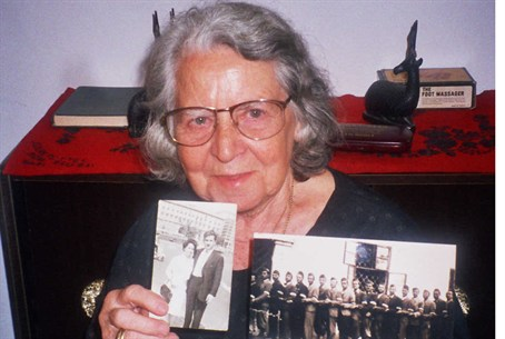 Orna Shurani saved 27 Jewish men in Hungary