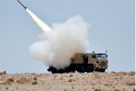 missile launched during military exercise by