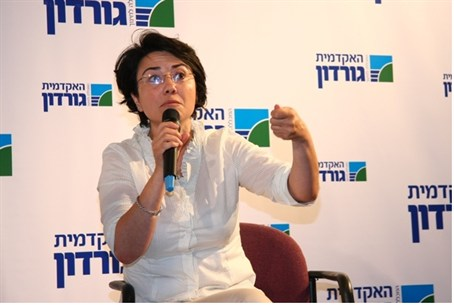 MK Hanin Zoabi at Gordan College of Education