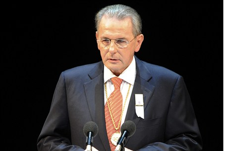 President of the IOC Jacque Rogge