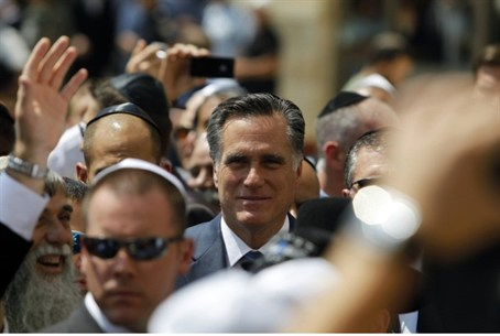 Romney in Jerusalem