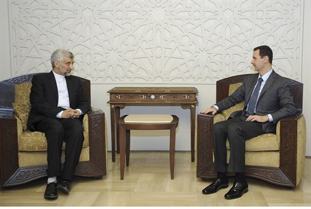 Assad meets Iran's Supreme National Security