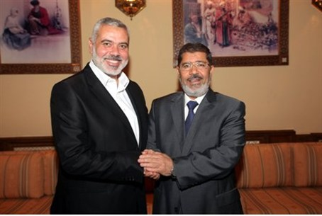 Two of a kind: Haniyeh and Morsi