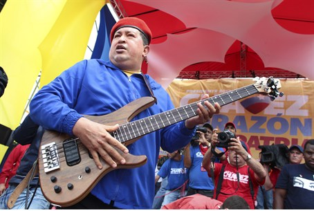 Chavez guitar hero