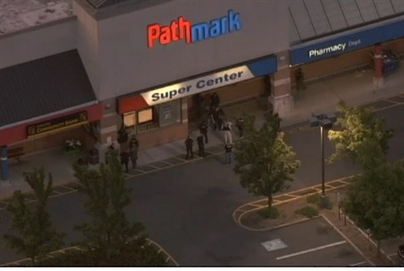 Site of shooting at Pathmark supermarket in O