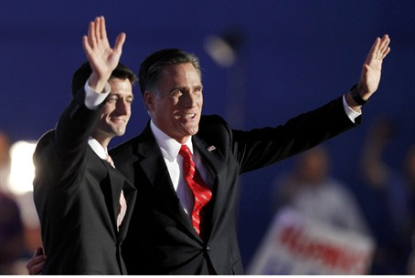 Mitt Romney and Republican vice presidential