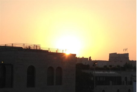 Sunrise over the Old City