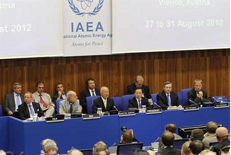 IAEA officials