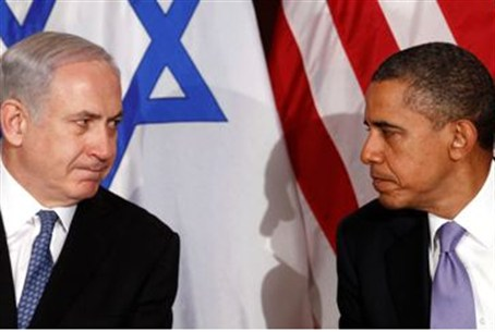 Obama and Netanyahu at UN in September 2012