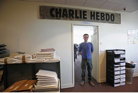 French satirical weekly Charlie Hebdo publish