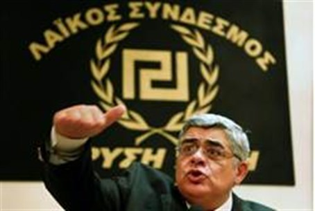 'Golden Dawn' neo-Nazi leader Mihaloliakos