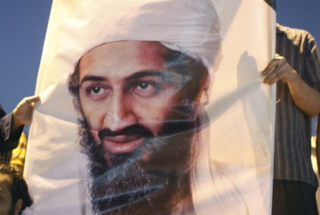 Al Qaeda supporters protest Bin Laden killing