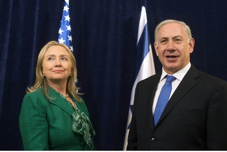 Clinton meets with Netanyahu