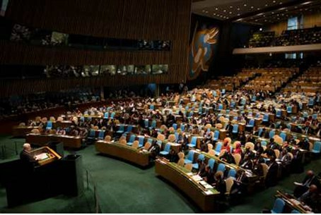 Abbas addresses the 67th United Nations Gener