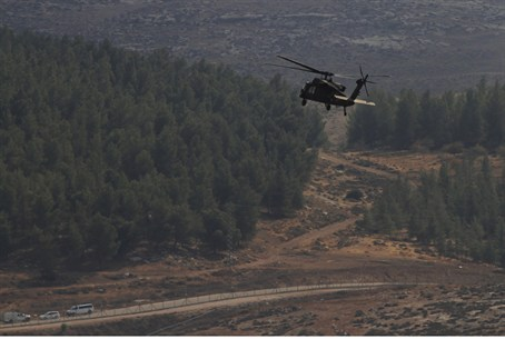 An unkown drone penetrated Israeli airspace S