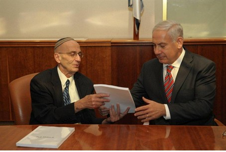 Netanyahu and Justice Edmund Levy