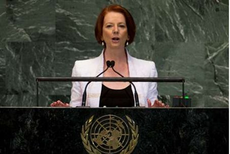 Prime Minister of Australia Julia Gillard add