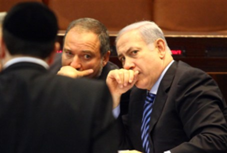 Netanyahu and Lieberman